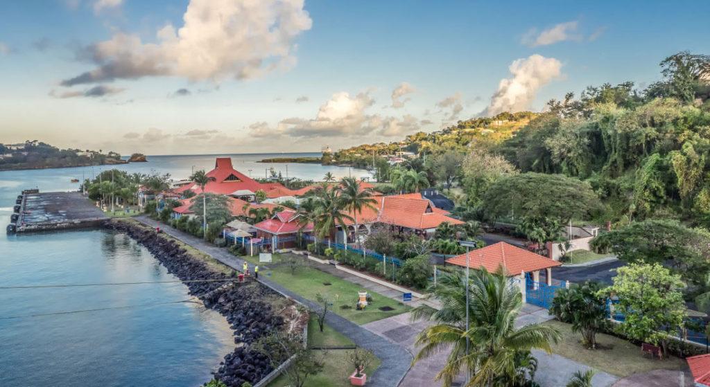 St Lucia harbour