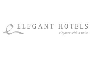 Elegant Hotels Logo. Luxury holidays hotels
