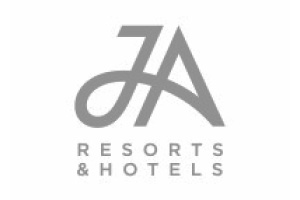 JA Resorts Logo. A luxury holiday supplier