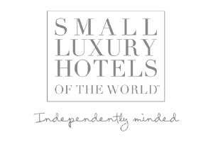 Small Luxury Hotels Of The World Logo. A luxury holiday supplier