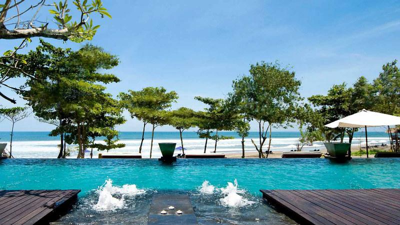 Anantara Seminyak, Bali - infinity pool