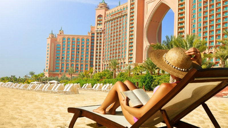 Beach - Atlantis The Palm, Dubai