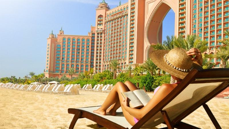 Beach - Atlantis The Palm, Dubai