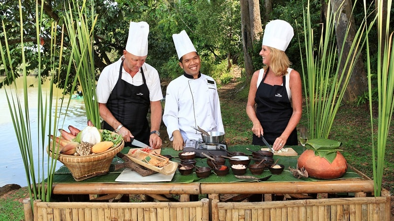 Cooking class - The Sarojin Khao Lak, Thailand