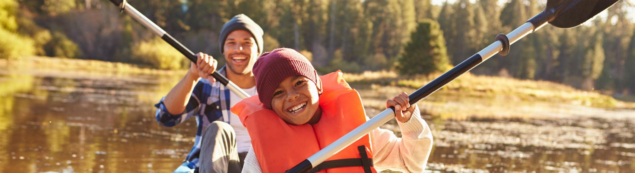 Rowing Kayak