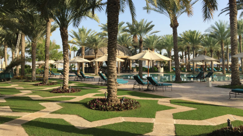 Gardens at One&Only Royal Mirage