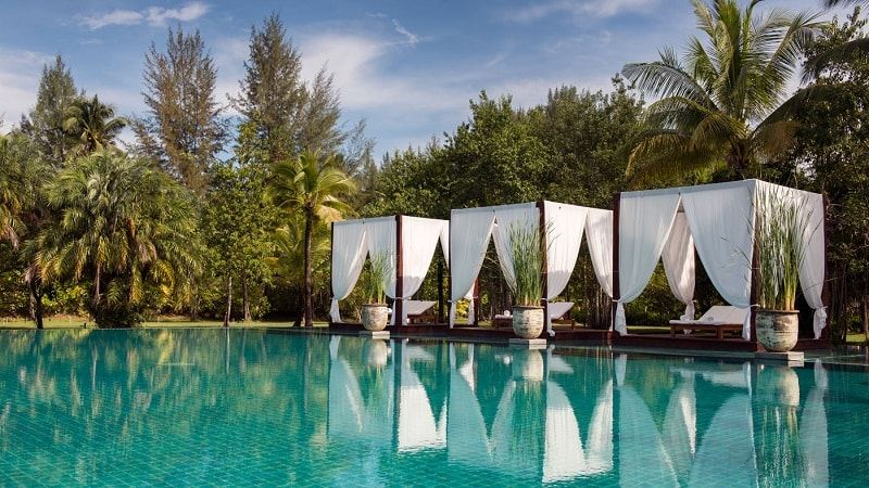Main Pool - The Sarojin Khao Lak, Thailand