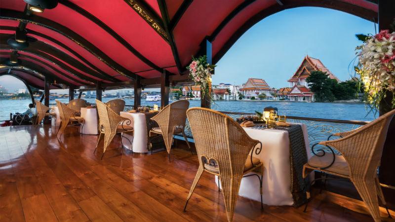 Manohra Cruises - Anantara Riverside Bangkok