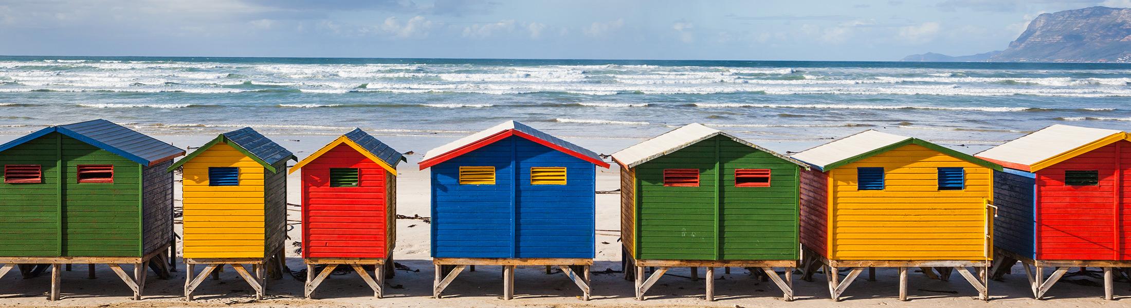 Muizenberg beach Cape Town Africa
