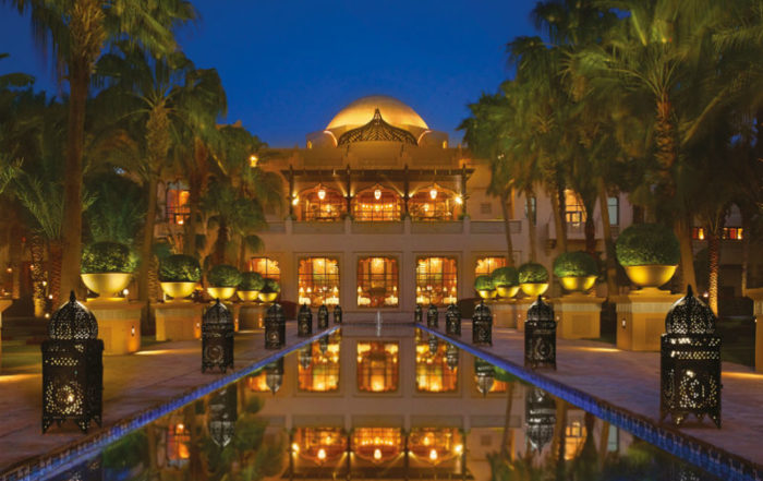 One&Only Royal Mirage The Palace, Dubai - Evening hotel view
