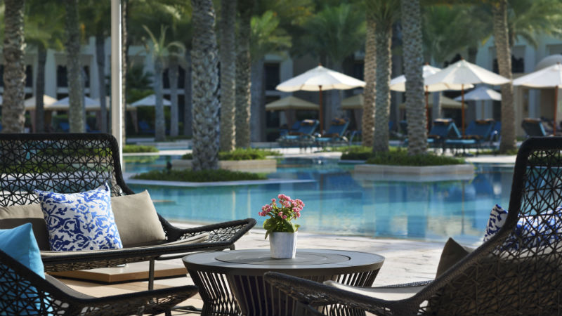 One&Only Royal Mirage, pool area