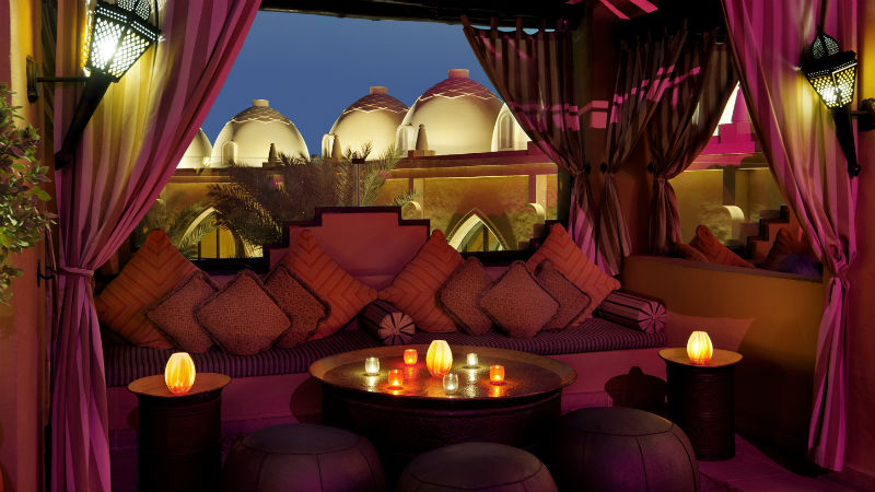 One&Only Royal Mirage, roof top bar