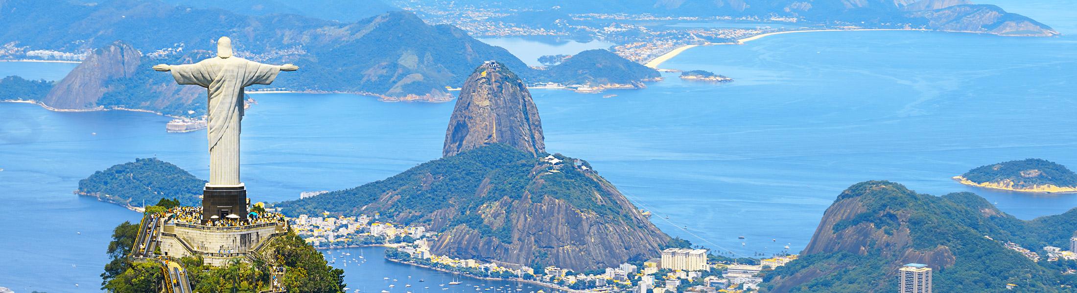 Christ the Redeemer in Rio de Janeiro Brazil
