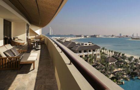 Sofitel The Palm Dubai - balcony view