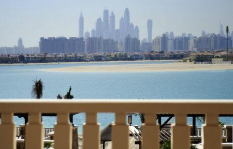 Sofitel The Palm Dubai - balcony view 2