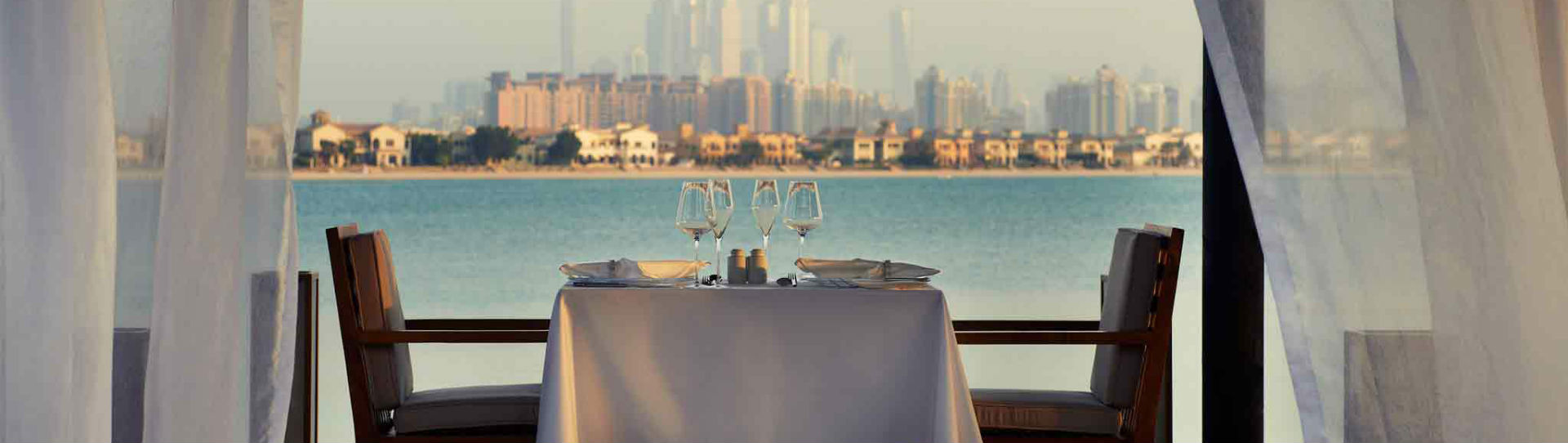 Sofitel The Palm, Dubai - dining experience