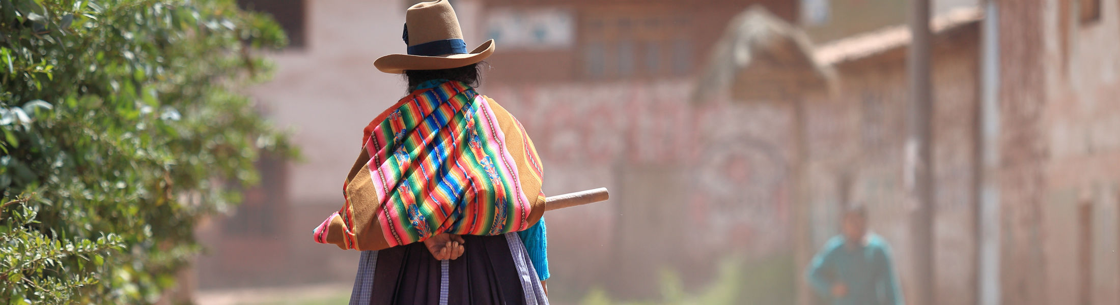 South American typical dress