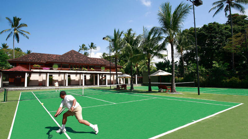 Tennis Courts - Nusa Dua Beach Hotel & Spa, Bali