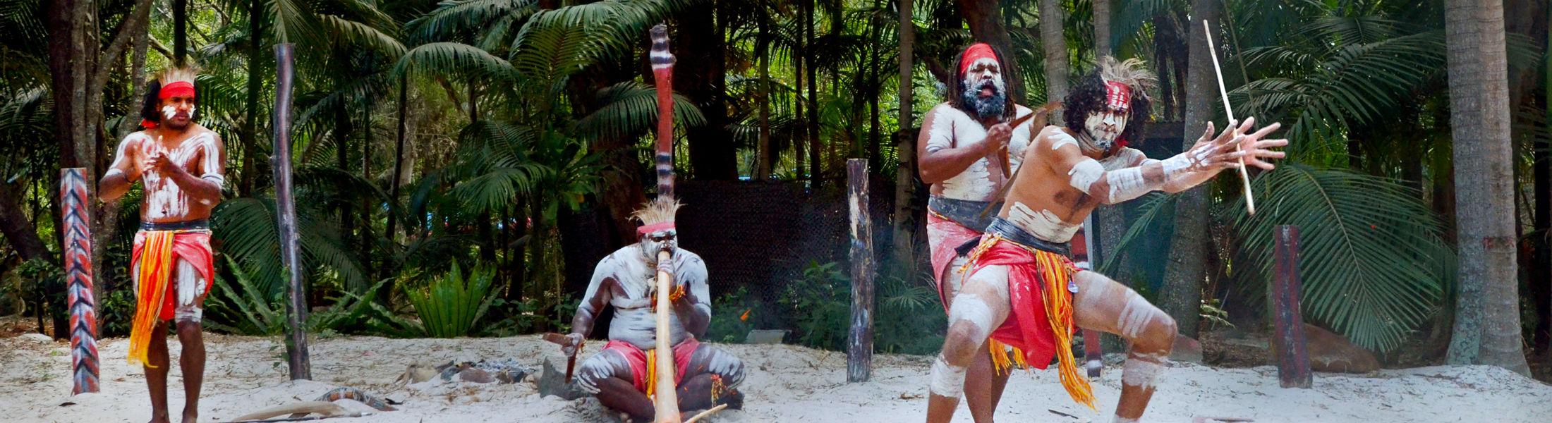Aboriginal warriors dance