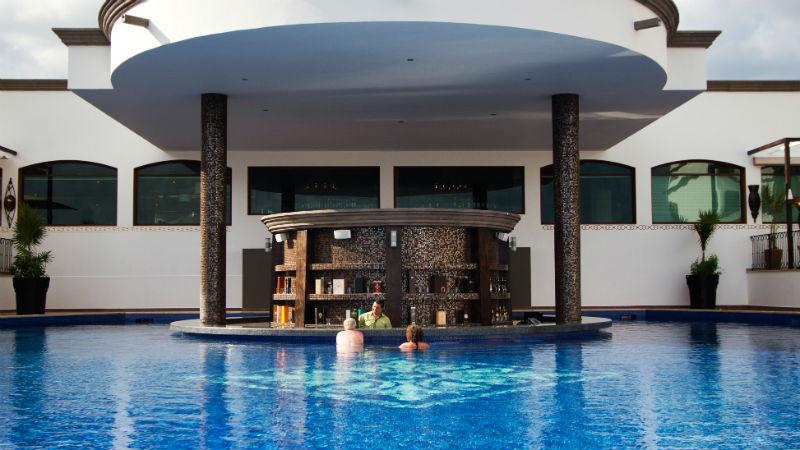 Grand Residences Riviera Cancun pool bar