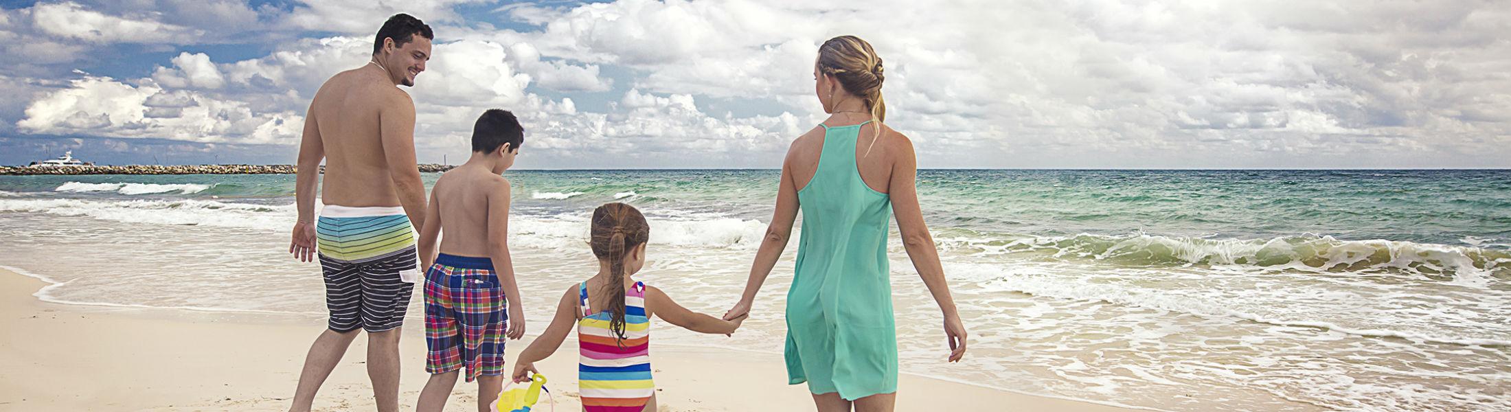 Cancun beach next to Grand Residences Riviera Cancun