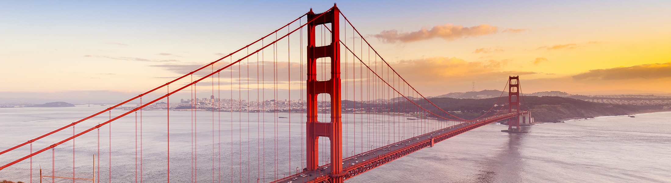 Golden Gate Bridge in North America