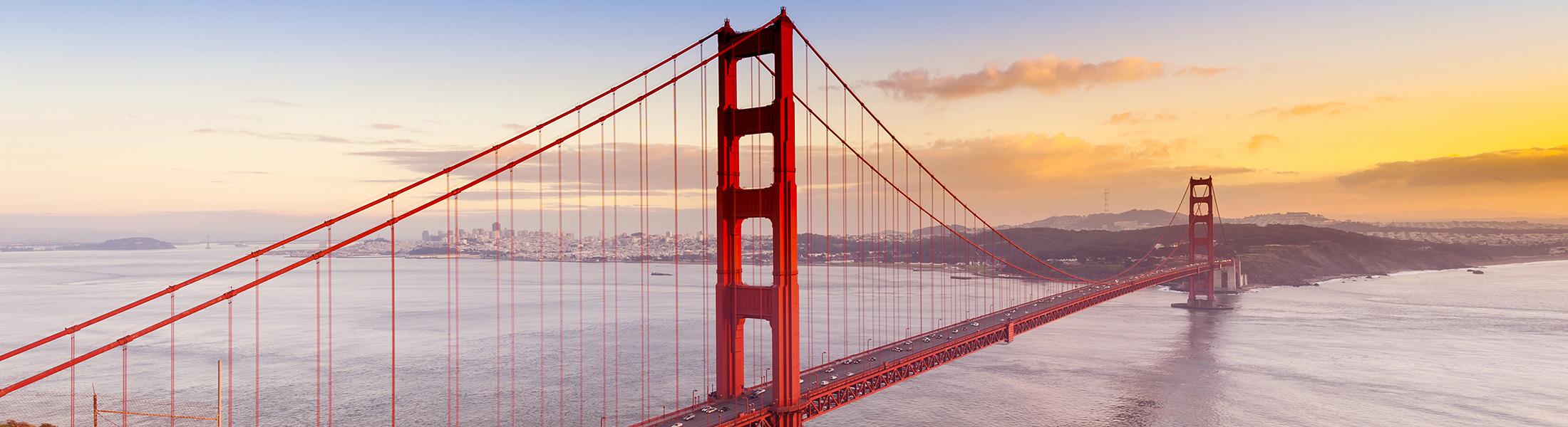 Golden Gate Bridge in North America