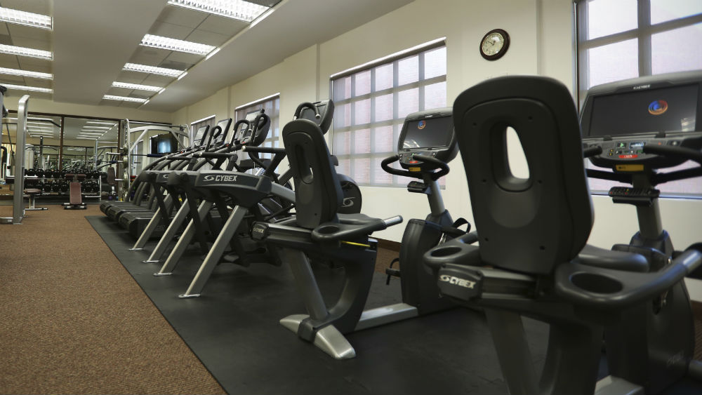 Fitness centre at the Gym - Grand Residences Riviera Cancun