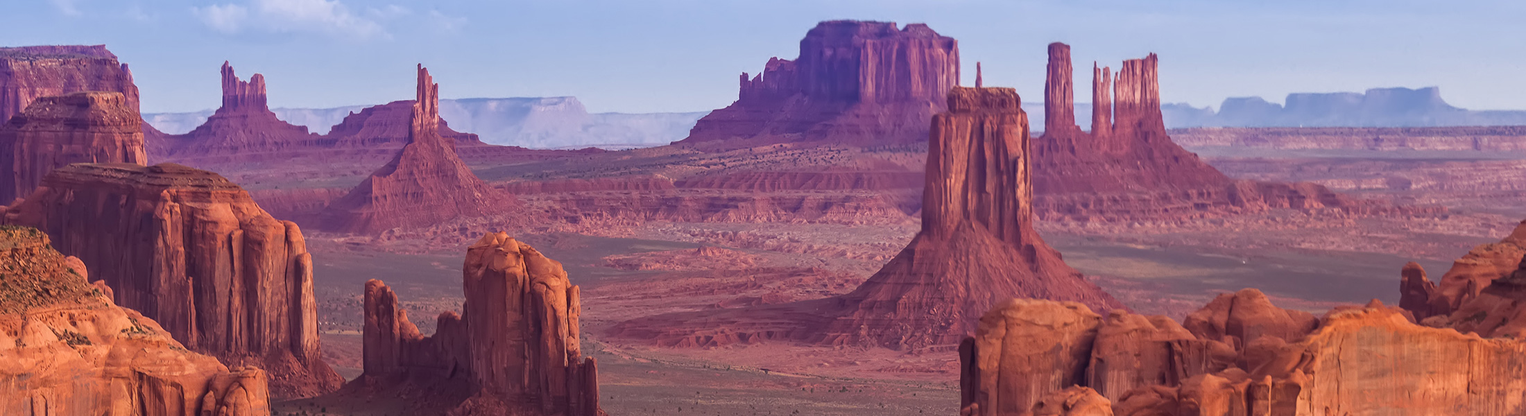 Monument Valley in North America