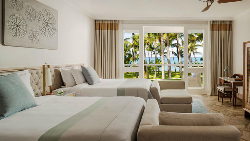 Ocean Balcony Twin or Two Bed Suite- One & only Le Saint Geran