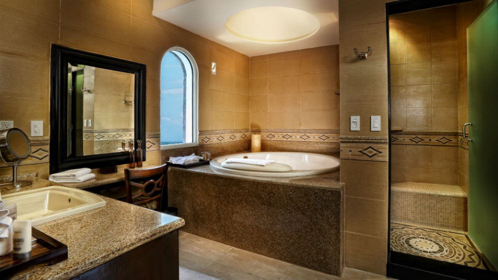 One Bedroom Master Suite bathroom at the Grand Residences Riviera Cancun