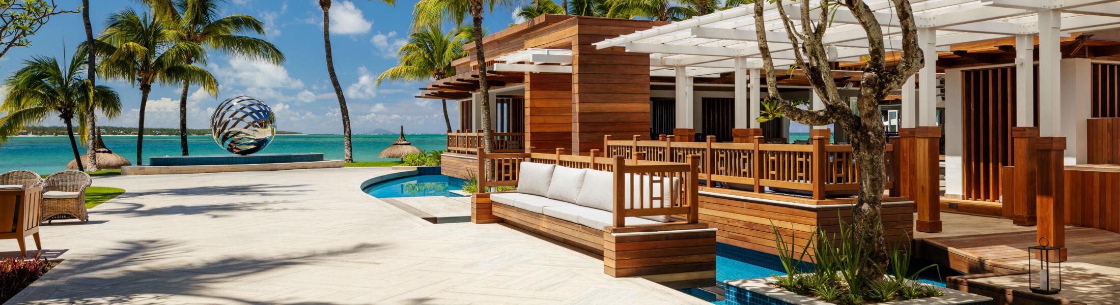 One&Only Le Saint Geran, Mauritius - external bar