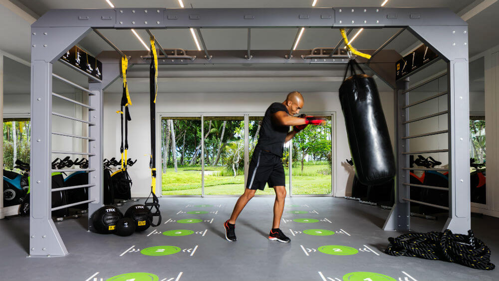 One&Only Le Saint Geran, Mauritius - indoor gym