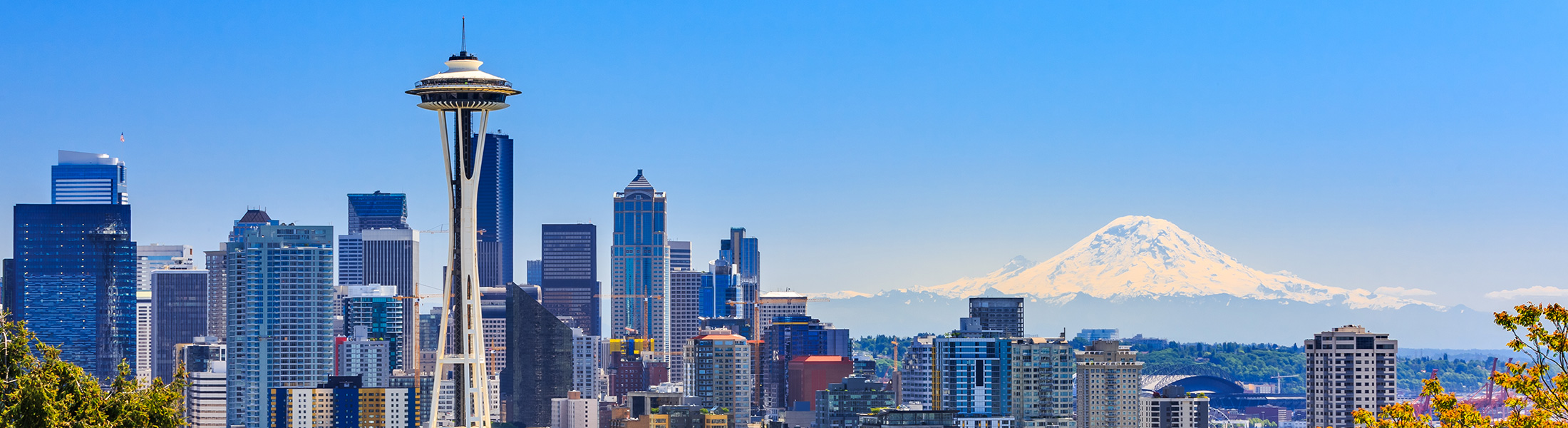 Seattle City Skyline in North America