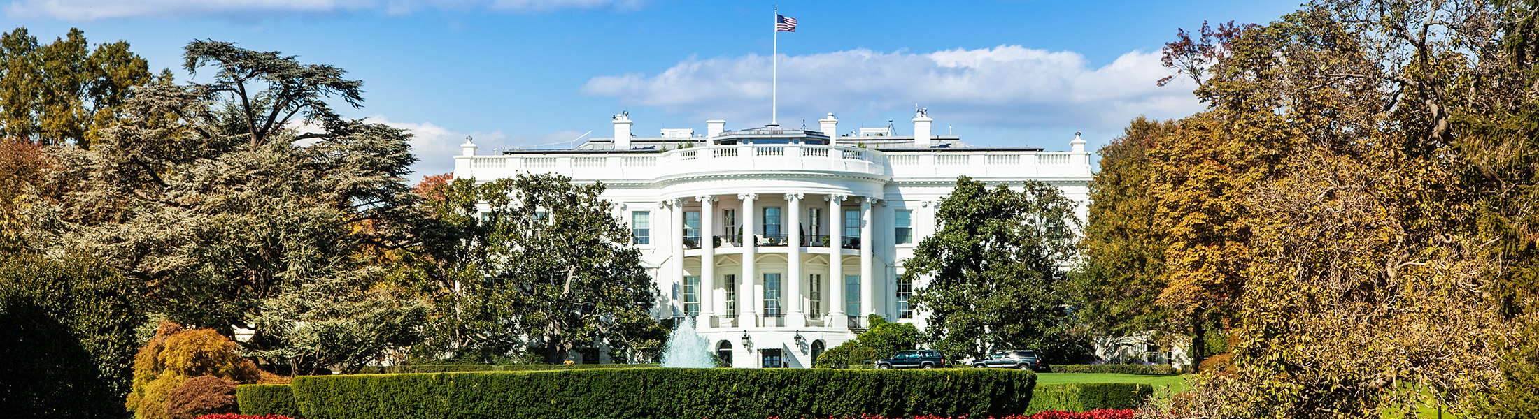 The White House in North America
