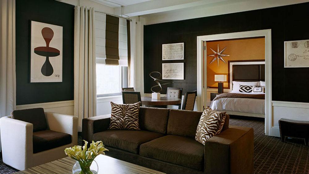 Corner suite at The empire hotel