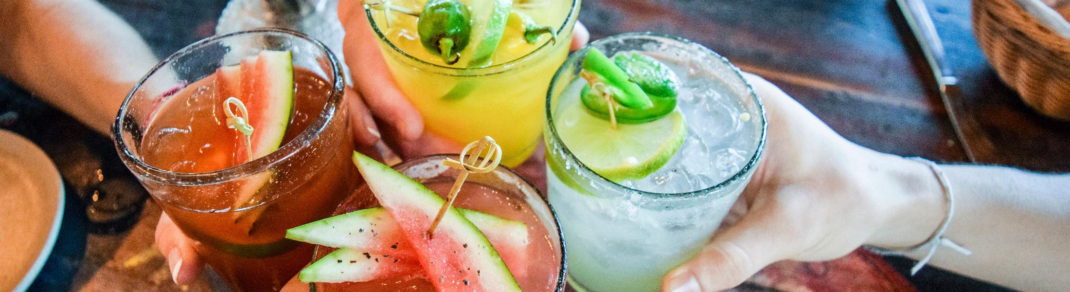 Margaritas in Cancun, Mexico