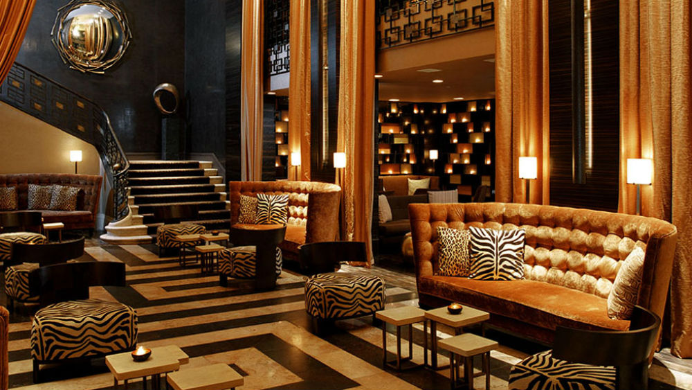 The Empire Hotel lobby seating