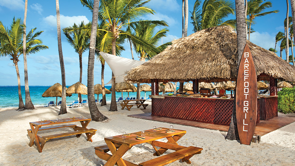 Barefoot Grill at the Dreams Palm Beach Punta Cana