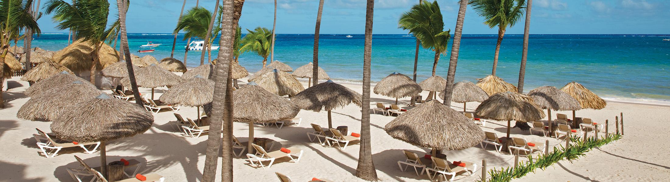 Beach Lounger at the Dreams Palm Beach Punta Cana