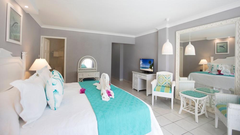 Oceanfront bedroom at Sugar Bay Barbados