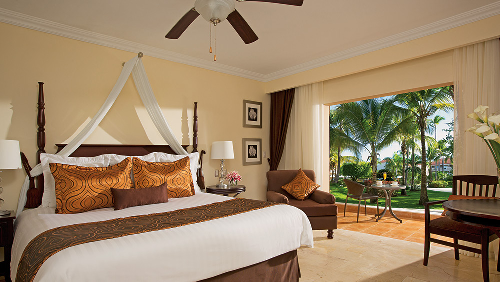 Deluxe Room at the Dreams Palm Beach Punta Cana