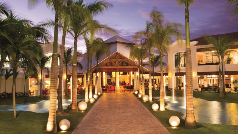 Entrance at the Main Pool - Dreams Palm Beach Punta Cana in Dominican Republic