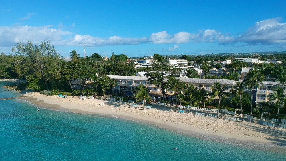 aerial view of the exterior of Sugar Bay Barbados