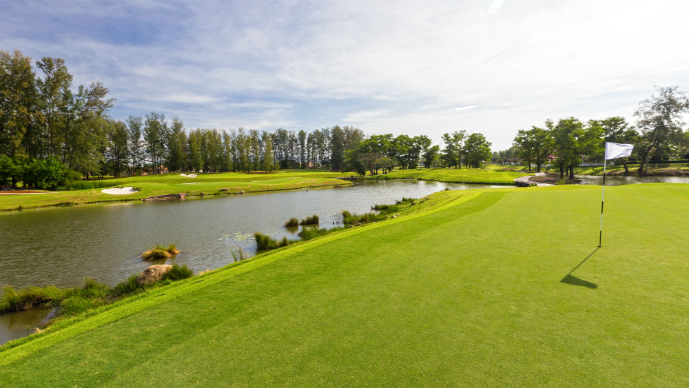 Golf Course at the Angsana Laguna Phuket