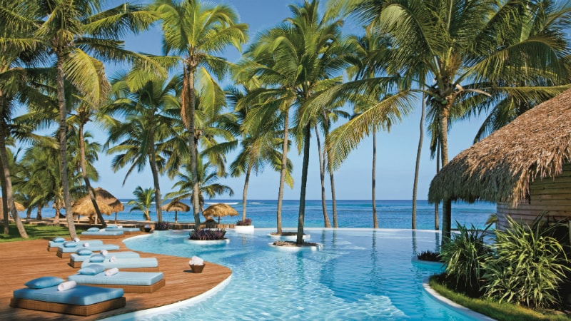 Infinity Pool at the Zoetry Agua