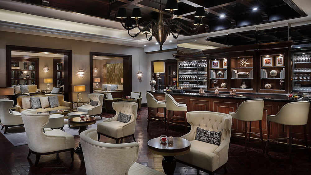 The Library Bar at Ritz-Carlton Dubai