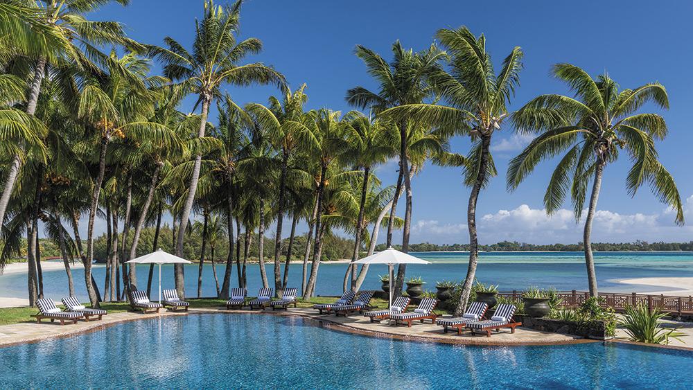 Main Pool at Shangri-La's Le Touessrok Mauritius