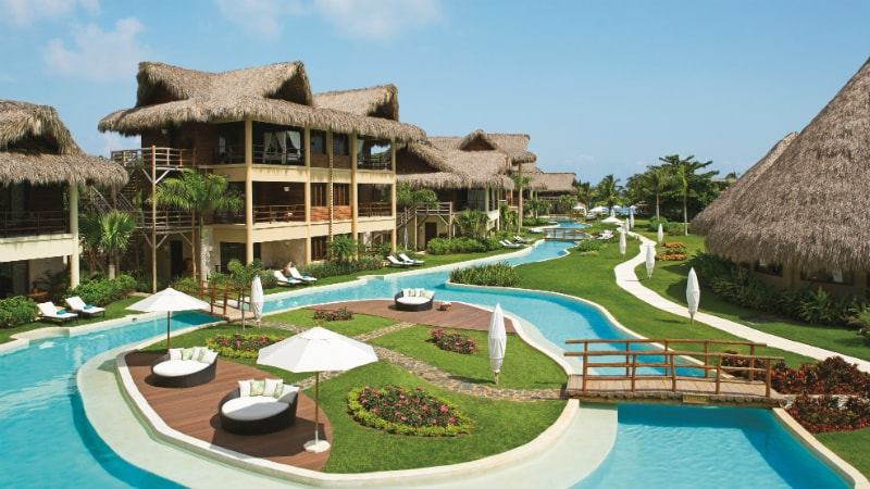 The main pool at the Zoetry Agua in Punta Cana