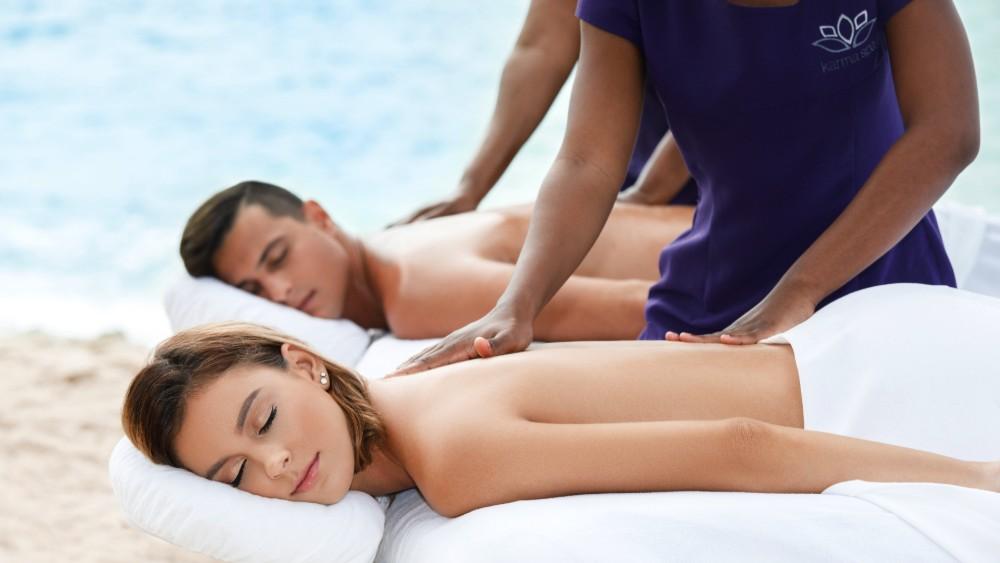 Couples massage at Sugar Bay Barbados